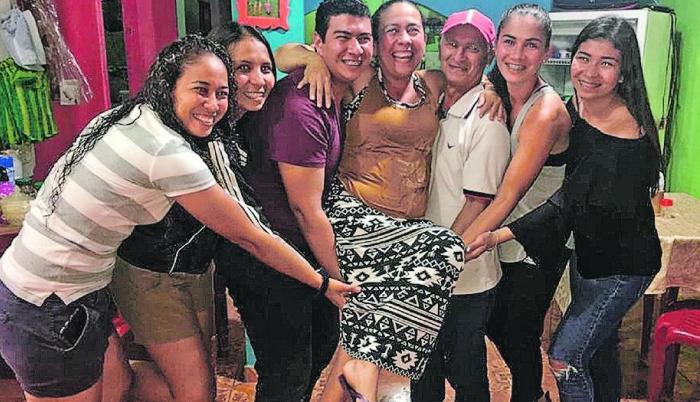 Ligia Moreira Ecuador familia