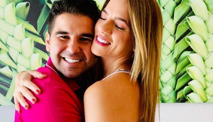Dalo Bucaram con Gabriela.