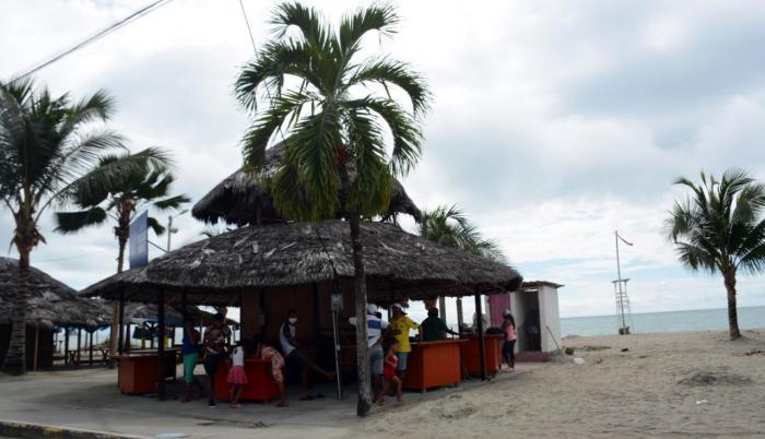Las playas de Esmeraldas confían en la reactivación por el feriado.