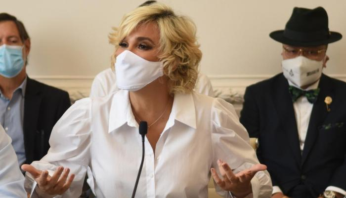 La alcaldesa Cynthia Viteri, en una reciente aparición pública.