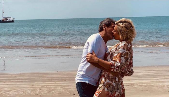 Cynthia Viteri y su esposo.