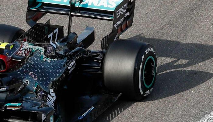 Valtteri Bottas Mercedes GP Rusia