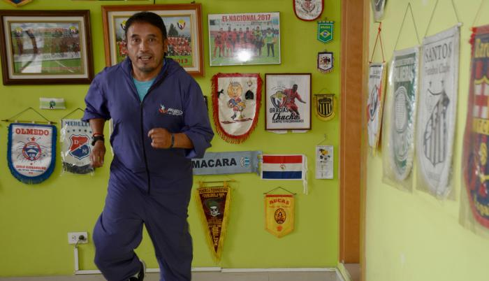 Leandro-Simbaña-fisioterapista-El Nacional