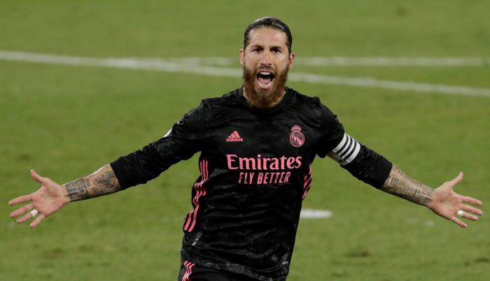Sergio Ramos Real Madrid LaLiga España