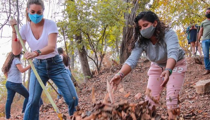 voluntariado en el Jardín Botánico