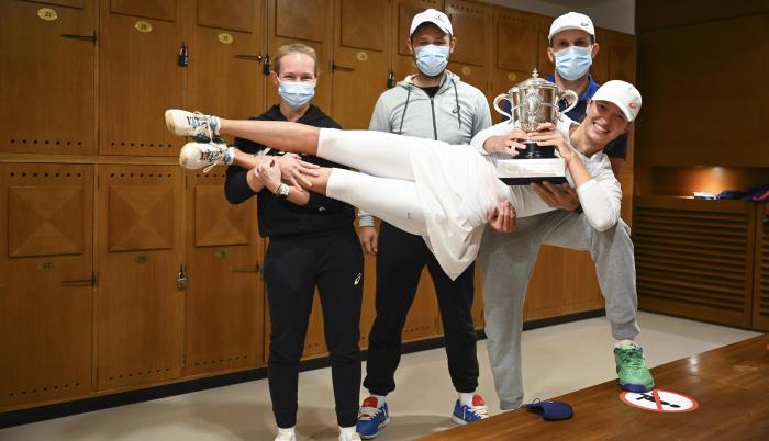 Iga Swiatek campeona Roland Garros 2020