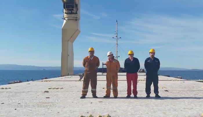 tripulante en Chile 2