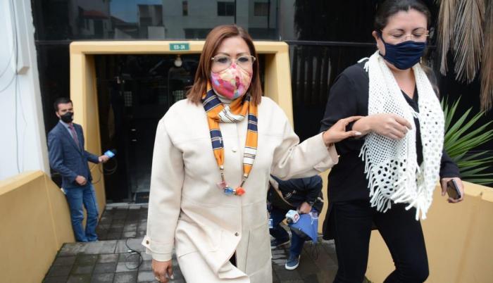 Lucía Sosa, alcaldesa de Esmeraldas, encabeza los reclamos.