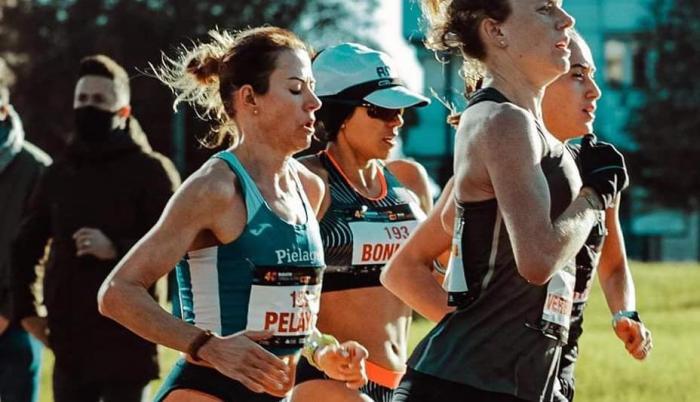 Paola Bonilla Maratón de Sevilla