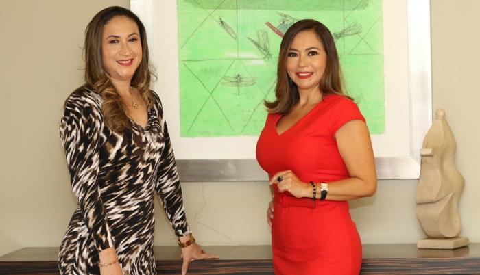 Ximena Crespo y Verónica Landetta