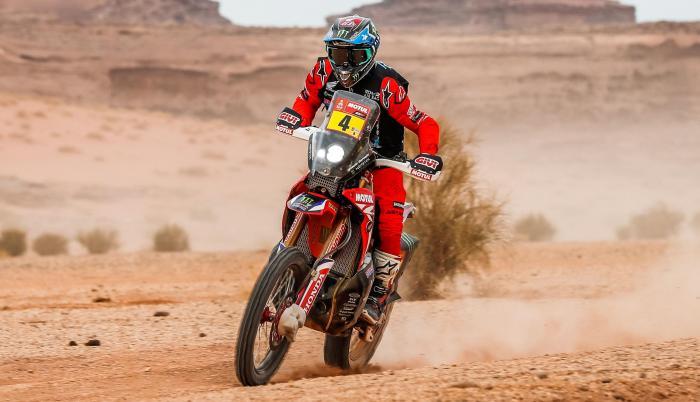 José Ignacio Cornejo moto Rally Dakar