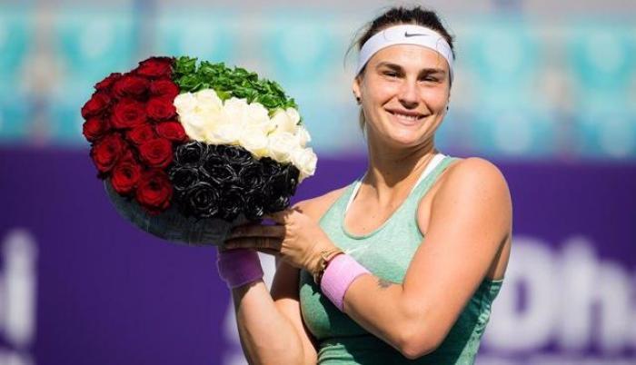 Aryna Sabalenka campeona Abu Dabi