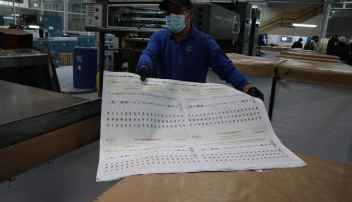 IGM- Papeletas- impresión- error