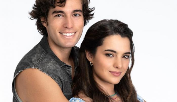 Danilo Carrera y Scarlet Gruber.
