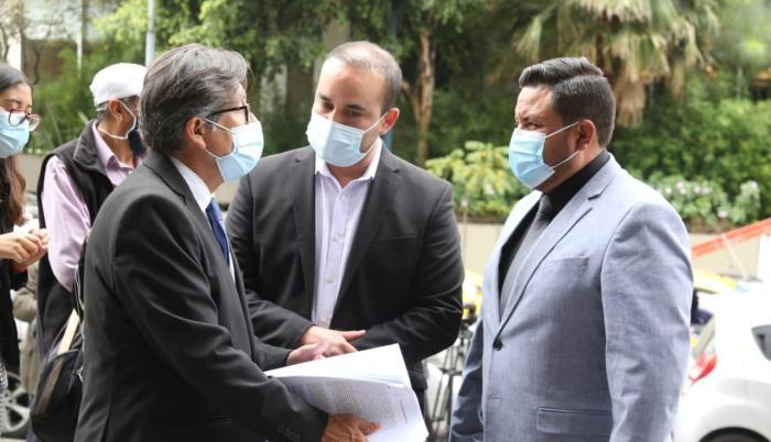 Hoy, 2 de febrero, se pidió medidas cautelares contra Jorge Yunda.
