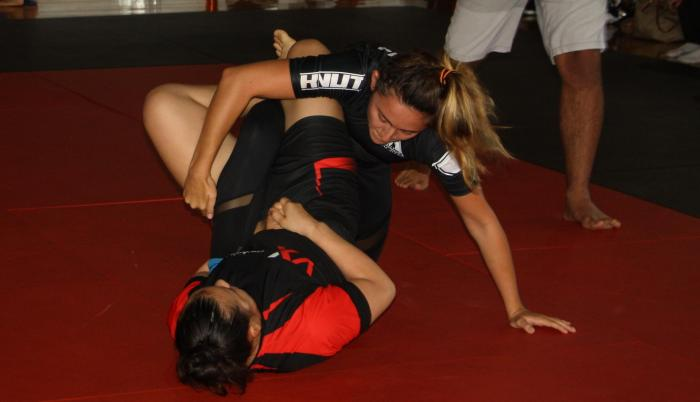 Samantha Sánez jiu jitsu Ecuador