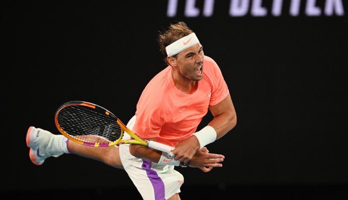 Rafael Nadal Abierto de Australia 2021