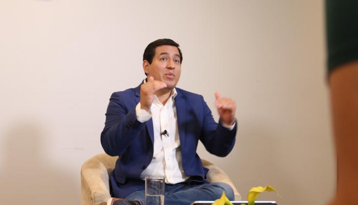 Entrevista a Andrés Arauz