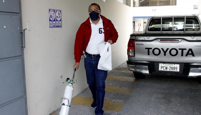 COVID-10_Tanques de oxígeno_Quito
