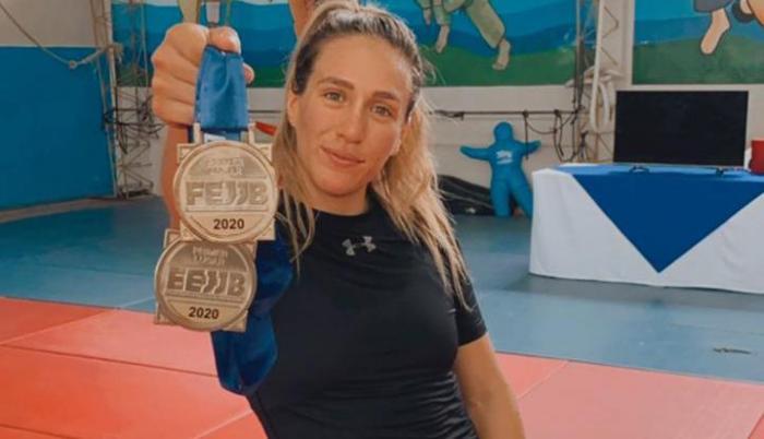 Nicole Loor jiu jitsu Ecuador
