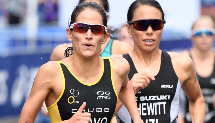 Elizabeth Bravo triatlón Ecuador