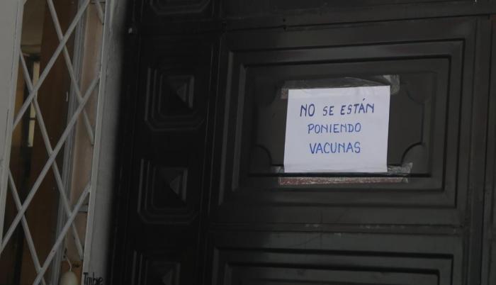 En los colegios de Quito no se aplicaron vacunas.