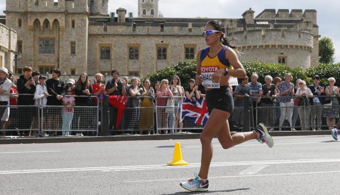 Rosalba Chacha maratón Ecuador