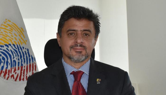 Rodrigo Avilés, director general del Registro Civil.