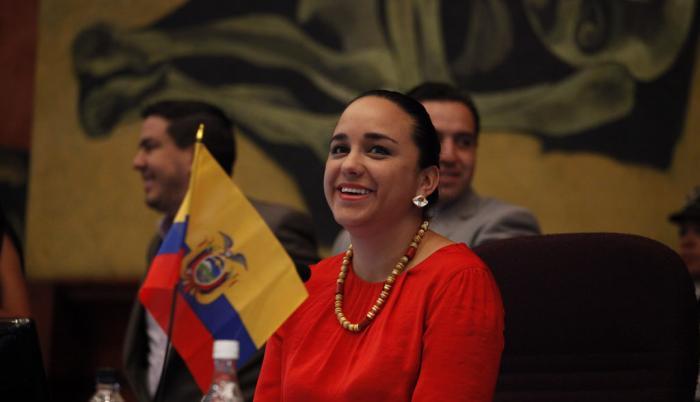 Gabriela Rivadeneira - Embajada de México - Rebelión