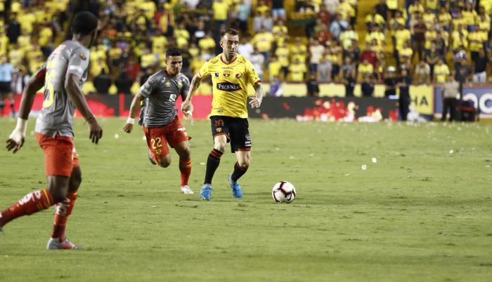 barcelona derrota aucas ligapro playoffs