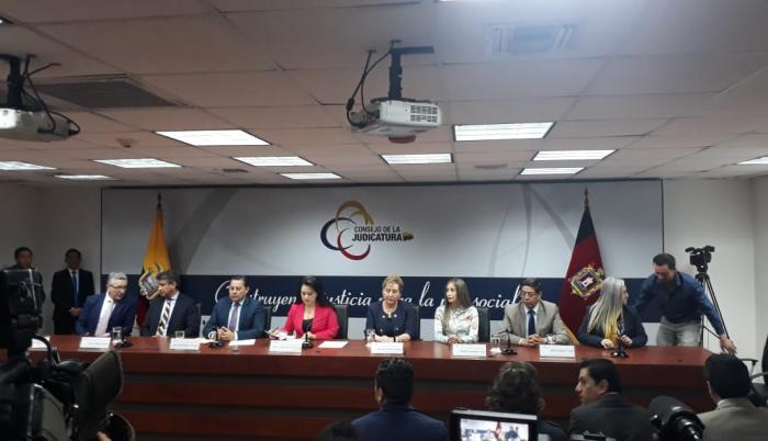 CONJUECES TEMPORALES DE LA CORTE NACIONAL DE JUSTICIA DE ECUADOR