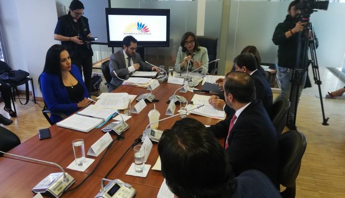 Comisión Ocasional de Enmiendas.