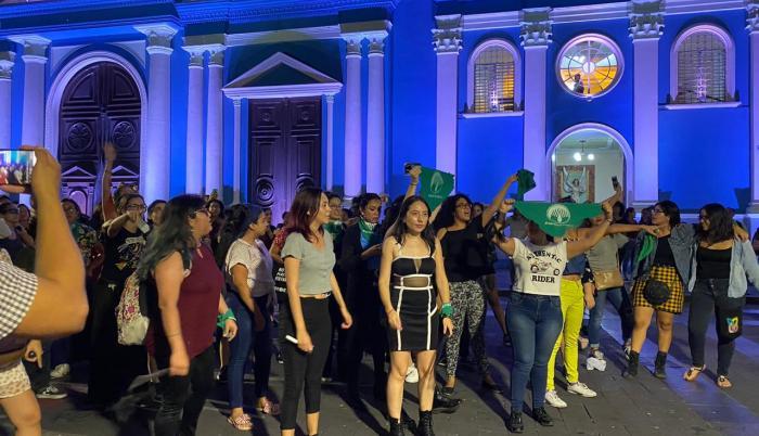 grupos feministas manifestaciones guayaquil