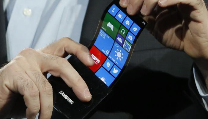 smartphones pantallas flexibles