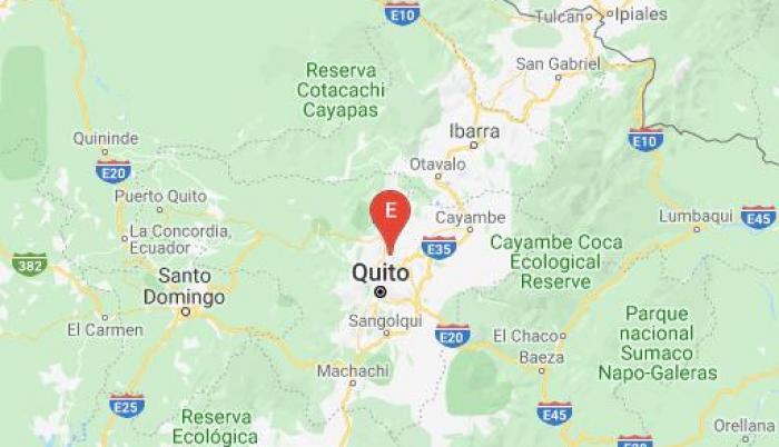 Temblor en Quito