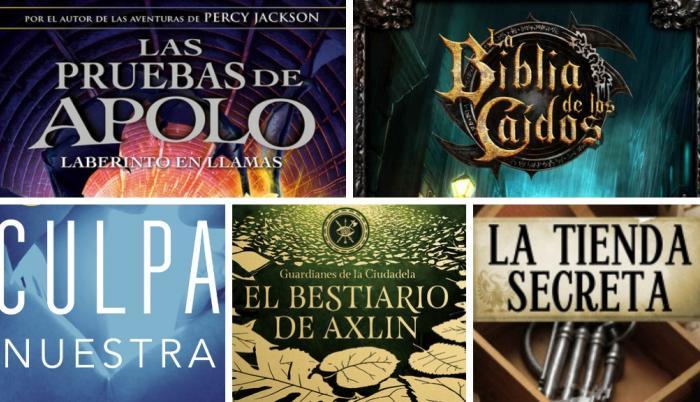 5 Libros Juveniles Que Debes Leer Antes De Que Acabe El Año O A Inicios Del Próximo
