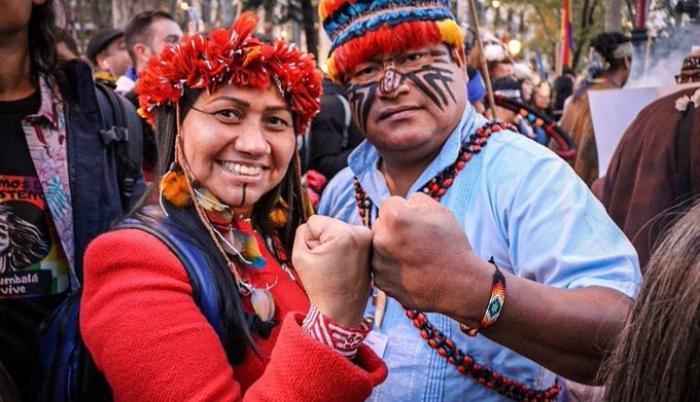 dirigentes indígenas jaime vargas