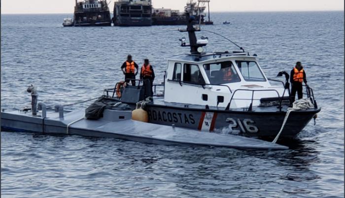 Captura narcosubmarino