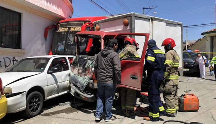 Accidente tránsito Cuenca
