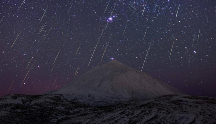 lluvia de gemínidas asteroides quito