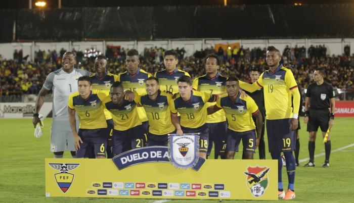 Selección ecuatoriana.