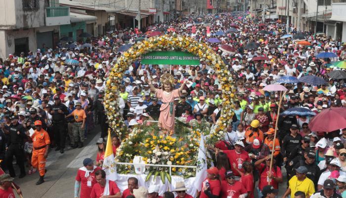 procesión divino niño