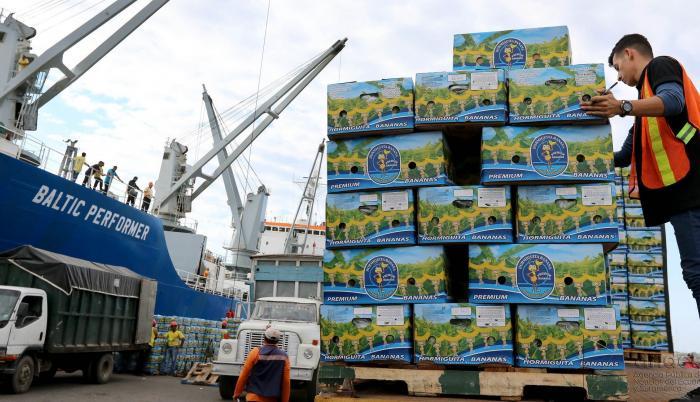 Exportación de banano