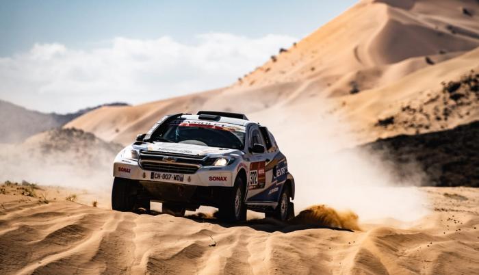 Sebastián Guayasamín - Dakar etapa 1