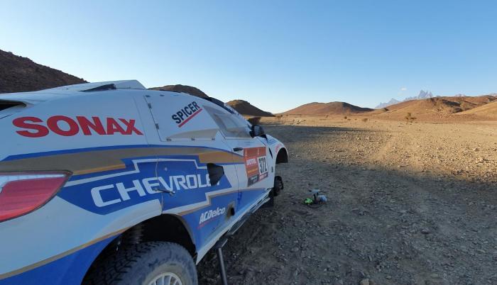 Guayasamín - Dakar etapa 2