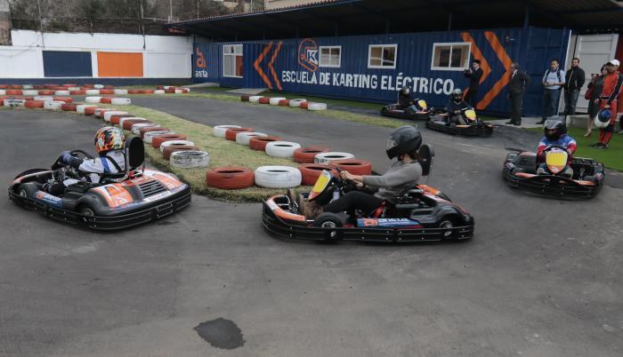 Escuela de karting eléctrico