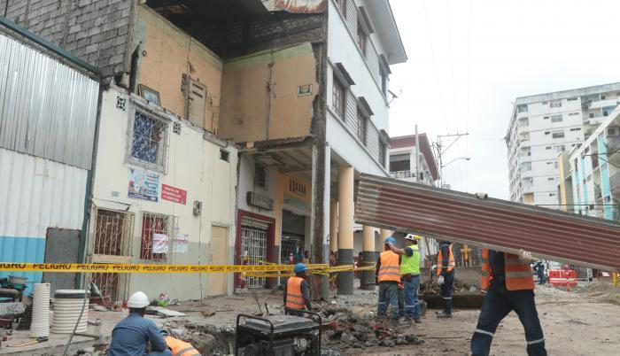 Colapso de vivienda Guayaquil