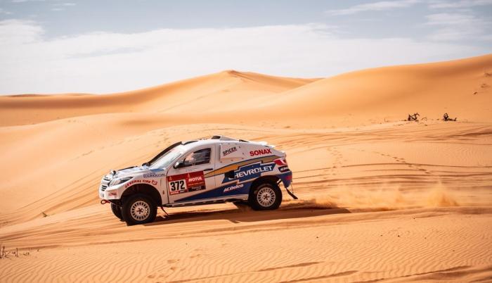 Guayasamín - Dakar etapa seis