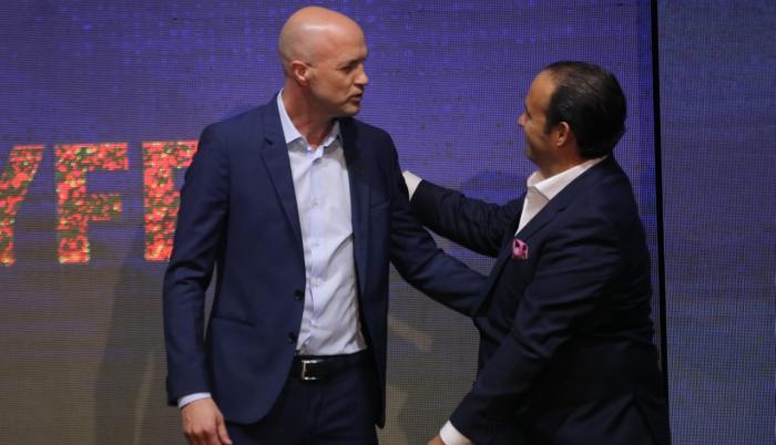 El español-holandés agradeció la confianza que la Ecuafútbol ha depositado en él, para asumir el proyecto que lleva a cabo la nueva administración de la FEF.