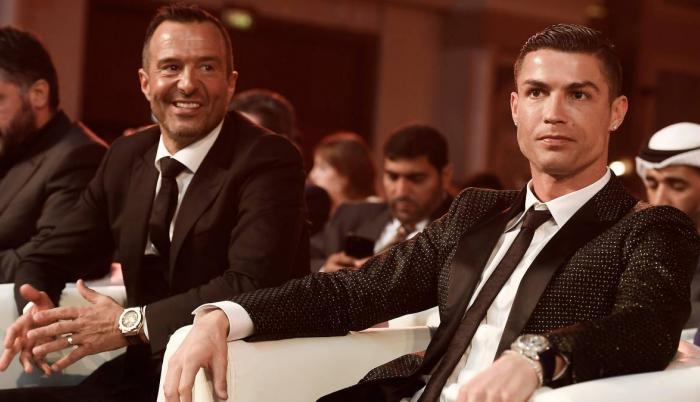 Jorge Mendes representa a Cristiano Ronaldo desde 2003.